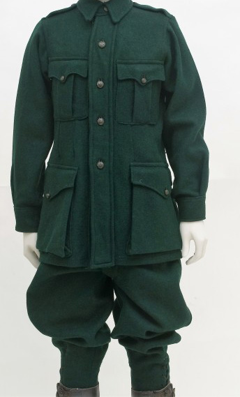 Irish Citizen Army Uniforms and Equipment 1916
