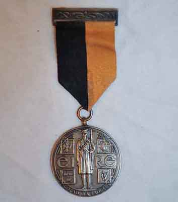Black and Tan medal