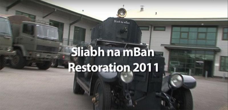 Michael Collins armoured car restoration