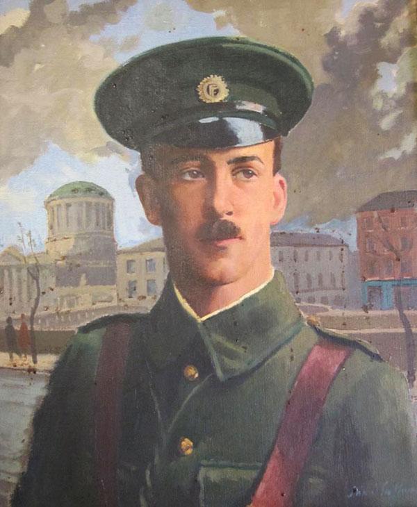 Portrait of Edward Daly