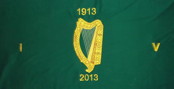 Irish Volunteers Centenary Flag
