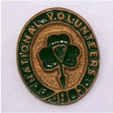 Irish National Volunteers Badge