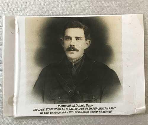 Commandant Dennis Barry Cork