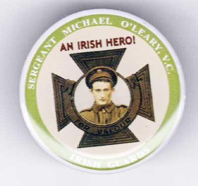 Irish Guard Sergeant Michael O'Leary badge