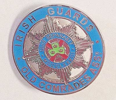 Irish Guards Old Comrades Association badge