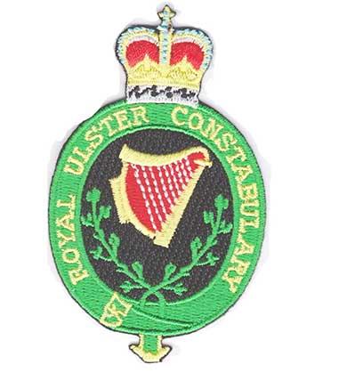 RUC Royal Ulster Constabulary badge