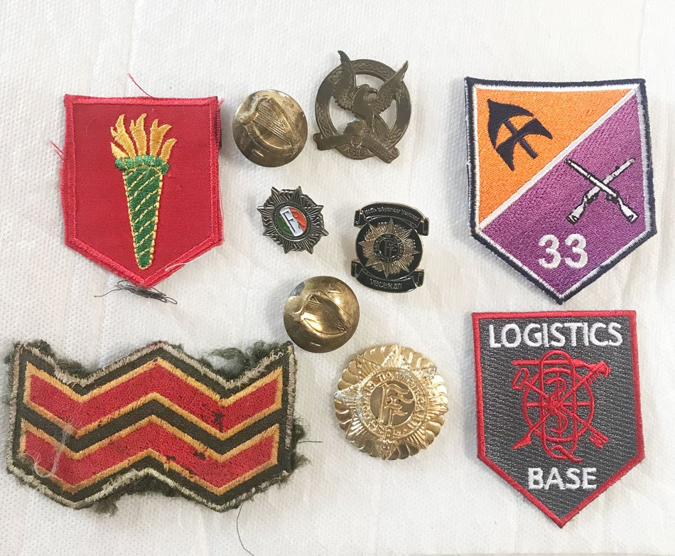Irish Army badges