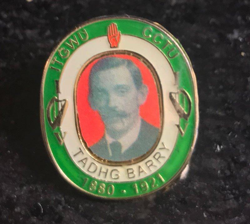 Tadgh Barry badge