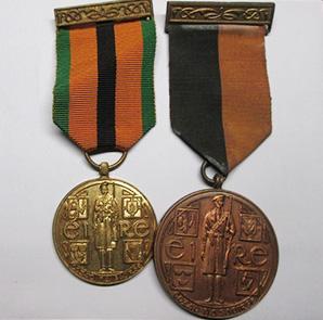 Original Irish medals